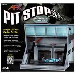 Click here to learn more about the AFX/Racemasters Pit Stop  - Holographic Theater.