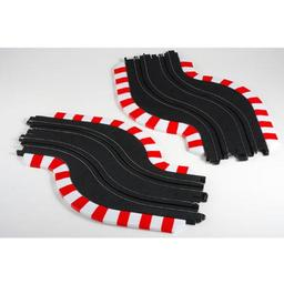 Click here to learn more about the AFX/Racemasters Slot Track Chicane Set, L&R.