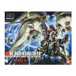Click here to learn more about the BANDAI 1/144 #99 NZ-666 Kshatriya Gundam HG.