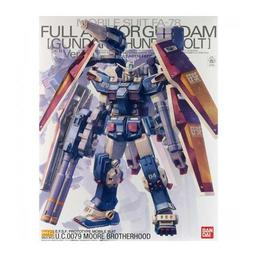 Click here to learn more about the BANDAI 1/100 Thunderbolt Full Armor Gundam MG.