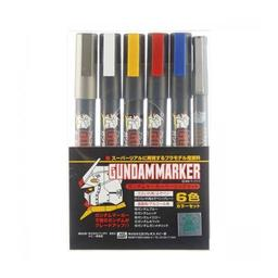 Click here to learn more about the BANDAI Gundam Marker Basic Set of 6.