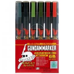 Click here to learn more about the BANDAI Gundam Marker Zeon Set of 6.