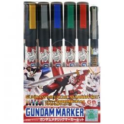 Click here to learn more about the BANDAI Gundam Marker Metallic Set of 6.