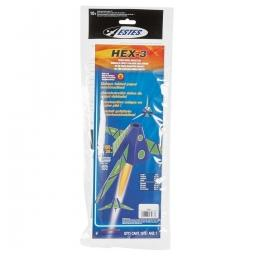 Click here to learn more about the Estes Hex-3 Rocket Kit Skill Level 3.