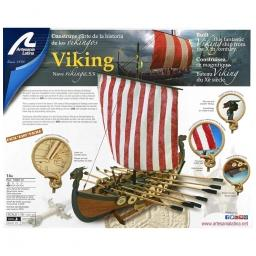 Click here to learn more about the Artesania Latina, S.A. 1/75 Viking Wooden Model Ship Kit.