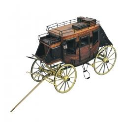 Click here to learn more about the Artesania Latina, S.A. Stage Coach 1848.