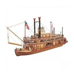 Click here to learn more about the Artesania Latina, S.A. 1/80 Mississippi Paddle Wheel Steam Boat Kit.
