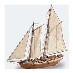 Click here to learn more about the Artesania Latina, S.A. 1/41 Virginia American Schooner Model Ship Kit.