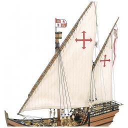Click here to learn more about the Artesania Latina, S.A. 1/65 La Nina Wooden Model Ship Kit.