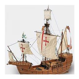 Click here to learn more about the Artesania Latina, S.A. 1/65 Carabela Santa Maria Wooden Model Ship Kit.