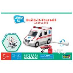 Click here to learn more about the Revell Monogram Ambulance, Junior Kit.