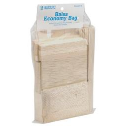 Click here to learn more about the Midwest Products Co. Balsa Economy Bag.