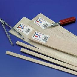 Click here to learn more about the Midwest Products Co. Balsa Strips 1/16 x 1/2 x 36 (24).