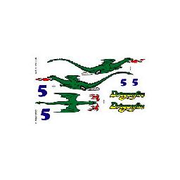 Click here to learn more about the Pinecar Dry Transfer Decals, Dragonfire.