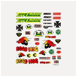 Click here to learn more about the Pinecar Dry Transfer Decals, Off-Road.