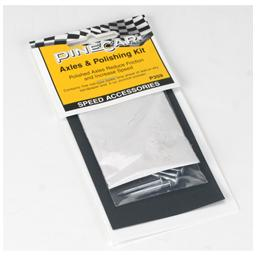 Click here to learn more about the Pinecar Axles & Polishing Kit.