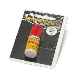 Click here to learn more about the Pinecar Super Glue, .11 oz.