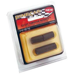 Click here to learn more about the Pinecar EZ-Cut Tungsten Weights, 2 oz..