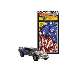 Click here to learn more about the Pinecar Body Skin Custom Transfer, Freedom Flag.
