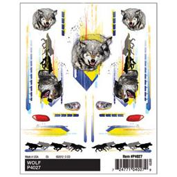 Click here to learn more about the Pinecar Dry Transer Decals, Wolf.