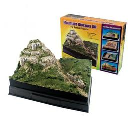 Click here to learn more about the Woodland Scenics Scene-A-Rama Mountain Diorama Kit.
