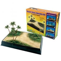 Click here to learn more about the Woodland Scenics Scene-A-Rama Desert Oasis Diorama Kit.