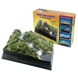 Click here to learn more about the Woodland Scenics Scene-A-Rama Water Diorama Kit.