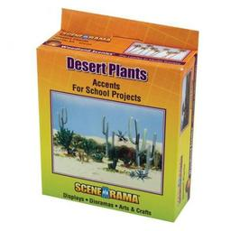 Click here to learn more about the Woodland Scenics Scene-A-Rama Desert Plants.