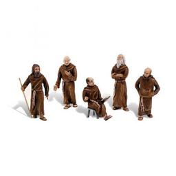 Click here to learn more about the Woodland Scenics Scene-A-Rama Scene Setters Friars/Monks.