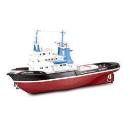 Click here to learn more about the Artesania Latina, S.A. Tugboat ATLANTIC with ABS Hull 103 cm.