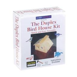 Click here to learn more about the Pine-pro Duplex Bird House Kit.