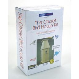 Click here to learn more about the Pine-pro Chalet Bird House Kit.