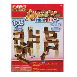 Click here to learn more about the Slinky Science - Poof Toys Amaze ''n'' Marbles 105 pc set.