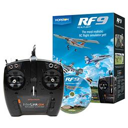 Click here to learn more about the RealFlight RealFlight 9 Flight Sim w/Spektrum Controller.