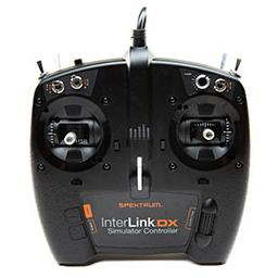 Click here to learn more about the Spektrum InterLink DX Simulator Controller (USB Plug).