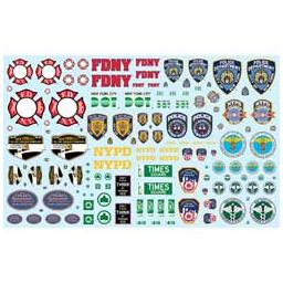 Click here to learn more about the Polar Lights 1/25 NYC Auxiliary Service Logos Decal Pack.