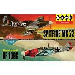 Click here to learn more about the Lindberg 1/72 Spitfire/Me109 (2 Pack).