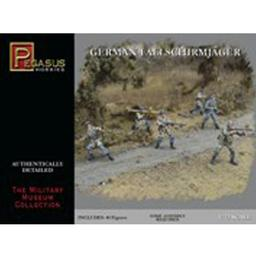Click here to learn more about the Pegasus Hobby 1/72 German Fallschirmjager.