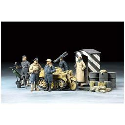 Click here to learn more about the Tamiya America, Inc 1/48 German Luftwaffe Crew,Winter w/Kettenkraftrad.