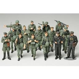 Click here to learn more about the Tamiya America, Inc 1/48 WWII Germ Infantry-Manue.