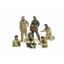 Click here to learn more about the Tamiya America, Inc 1/35 US Tank Crew Set,  European Theater.