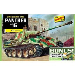 Click here to learn more about the Lindberg 1/72 German Panther G Bonus Pack.