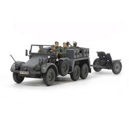 Click here to learn more about the Tamiya America, Inc 32580 1/48 German 6x4 Towing Truck Kfz w/3.7cm Pak.