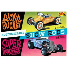 Click here to learn more about the Lindberg 1/32 Customizable Street Rod (2 pack).