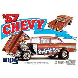 Click here to learn more about the MPC 1/25 1957 Chevy Flip Nose, Spirit of 57.