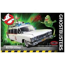Click here to learn more about the Polar Lights 1/25 Ghostbusters, Ecto-1 w/Slimer Snap.
