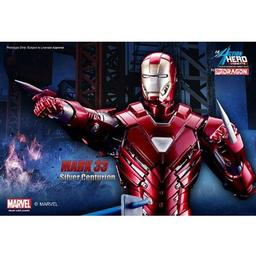 Click here to learn more about the Dragon Models, USA 1/9 Iron Man 3 - Mark.XXXIII, Silver Centurion.