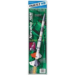 Click here to learn more about the Quest Aerospace Navaho AGM Kit, 2 Stage Rocket Kit Skill Level 3.
