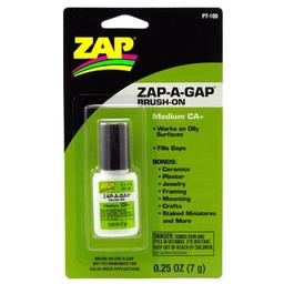 Click here to learn more about the ZAP Glue Zap-A-Gap Brush On,  .25oz, Carded.