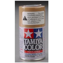 Click here to learn more about the Tamiya America, Inc Spray Lacquer TS-46 Light Sand.